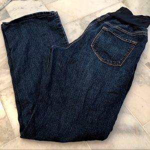 Maternity Old Navy full panel jeans